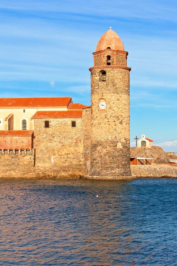 Collioure, sul de France foto de stock royalty free