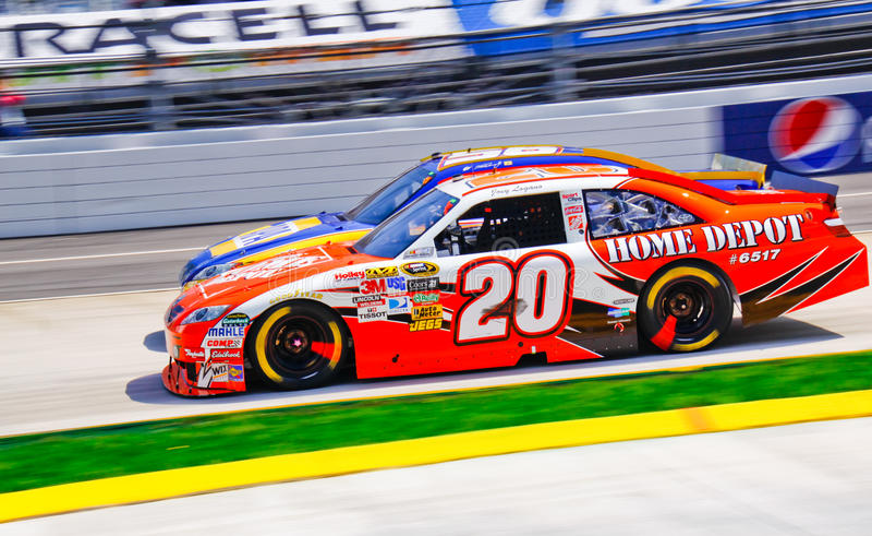 Collo di NASCAR e collo! fotografie stock libere da diritti