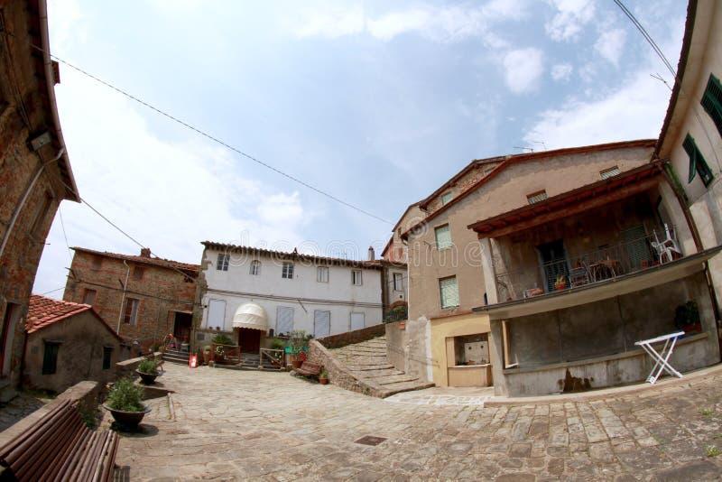 Collodi - weinig dorp in Toscanië royalty-vrije stock fotografie