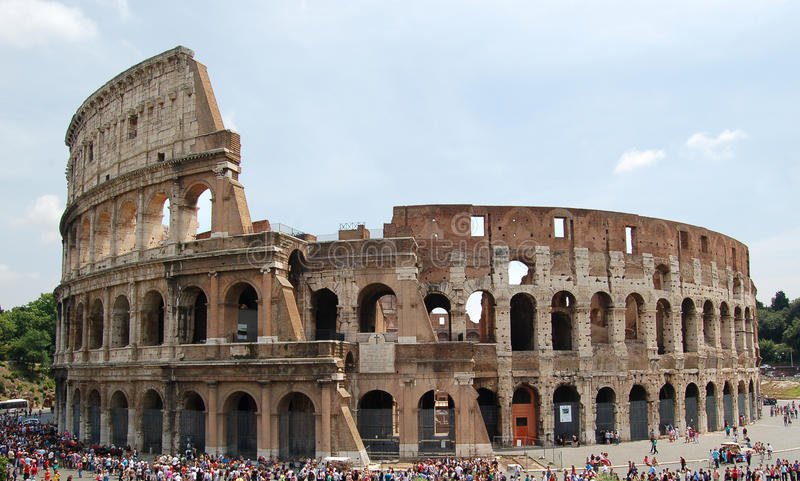 Colloseum lizenzfreie stockfotos