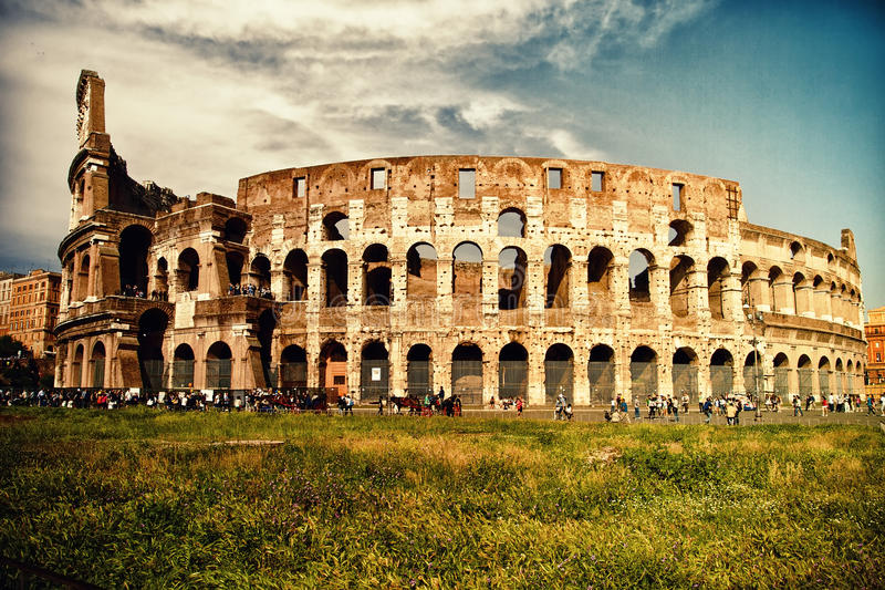 Colloseum royaltyfri bild