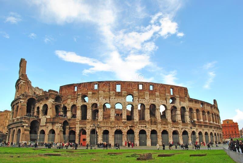 Colloseum en Roma fotografía de archivo