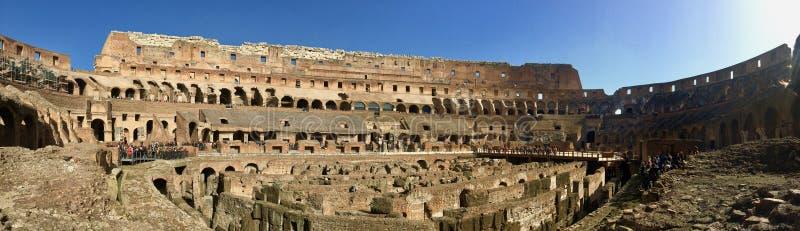 Colloseum, point de repère de Rome, Italie photos libres de droits