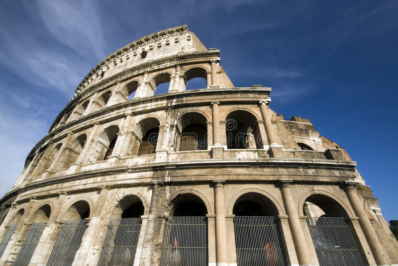 Collosseum rome italy stock images