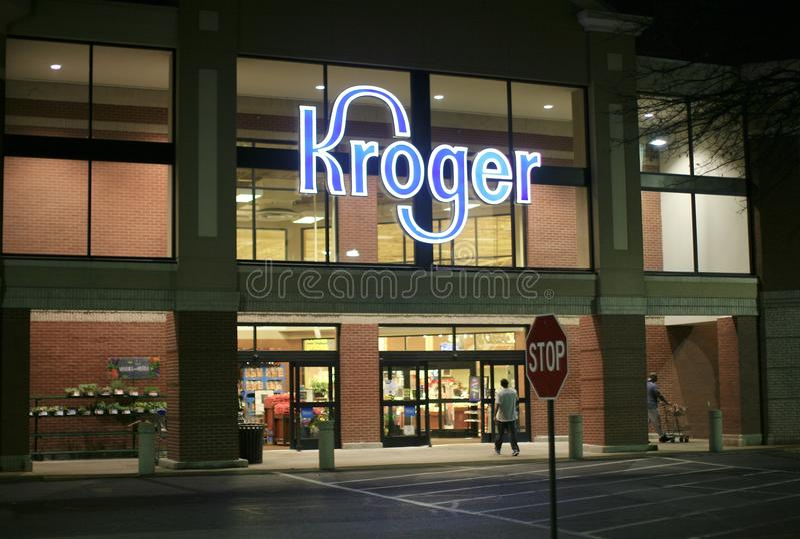Colmado de Kroger fotografía de archivo