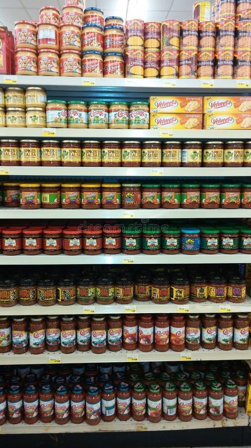 Colmado de la salsa imagenes de archivo