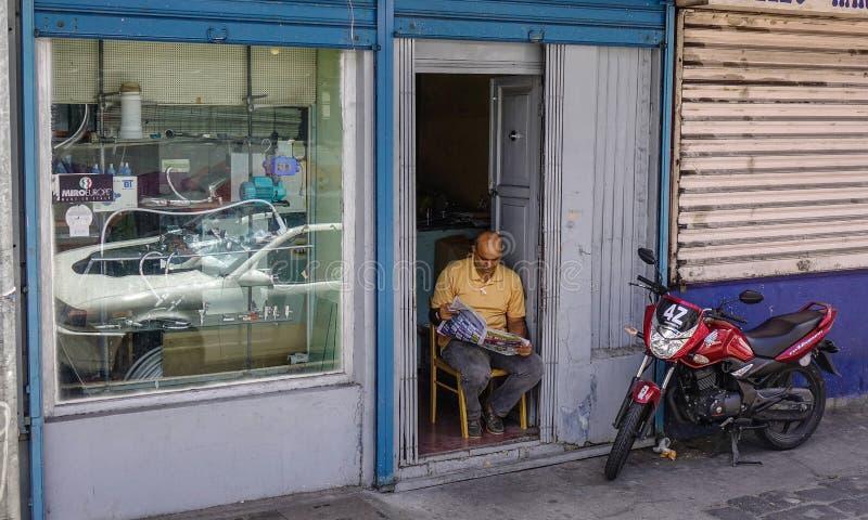Colmado en Port Louis, Mauricio fotos de archivo libres de regalías