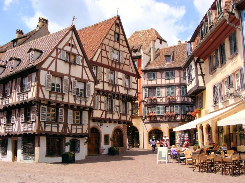 Colmar Γαλλία στοκ εικόνες με δικαίωμα ελεύθερης χρήσης