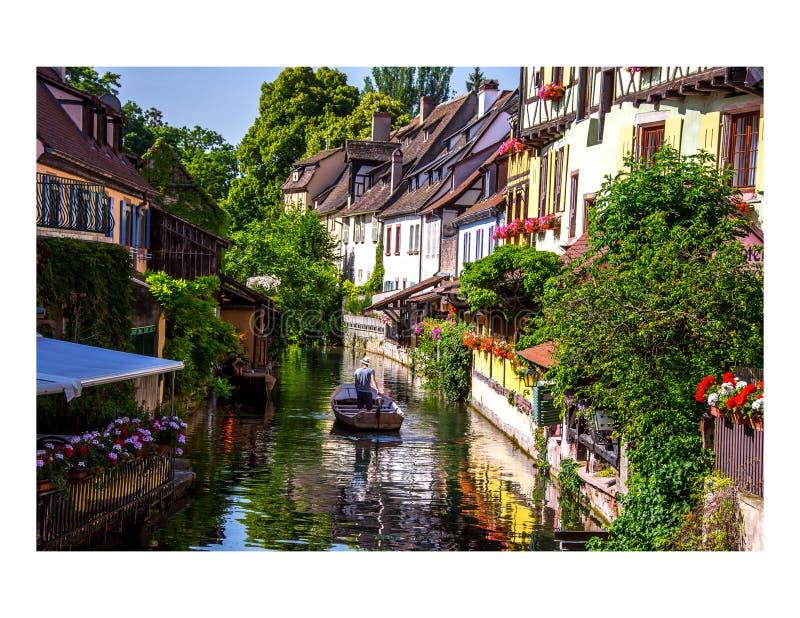Colmar Франция стоковая фотография rf