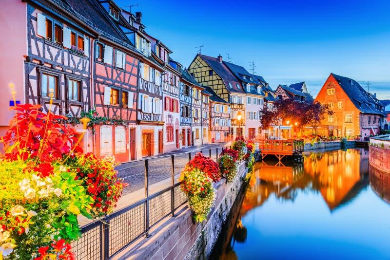 Colmar, Alsácia, França foto de stock