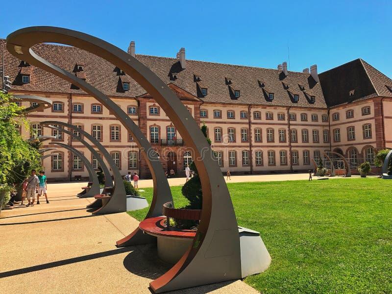 Colmar castle stock photography