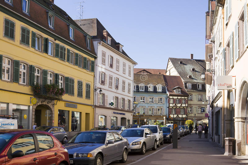 Download Colmar Cityscap In Alsace, France Editorial Image - Image: 39693305