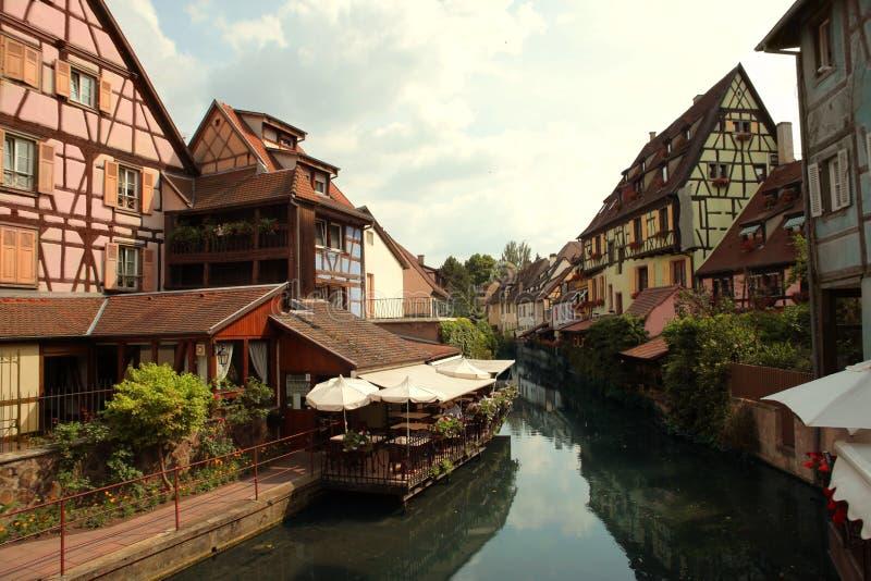 Colmar, Frankrijk stock foto's