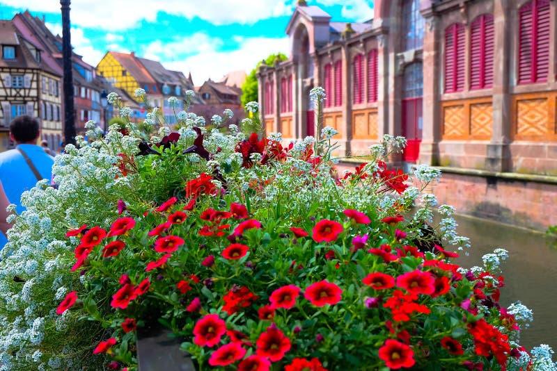Colmar - Frankrijk royalty-vrije stock foto's