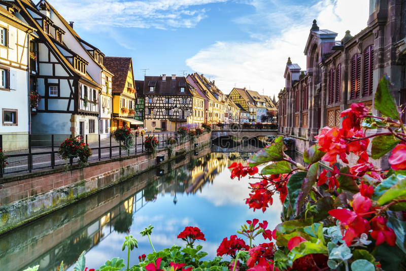 Colmar, l'Alsazia, Francia immagini stock