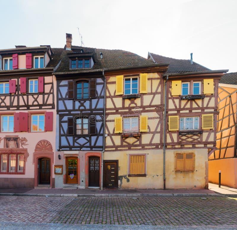 Colmar, piękny miasteczko Alsace, Francja obrazy stock