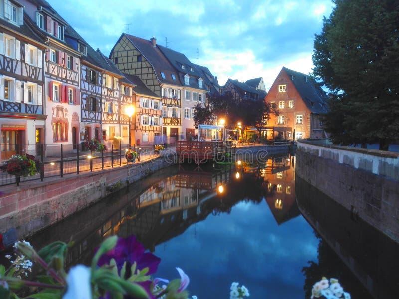 Colmar stad stock fotografie