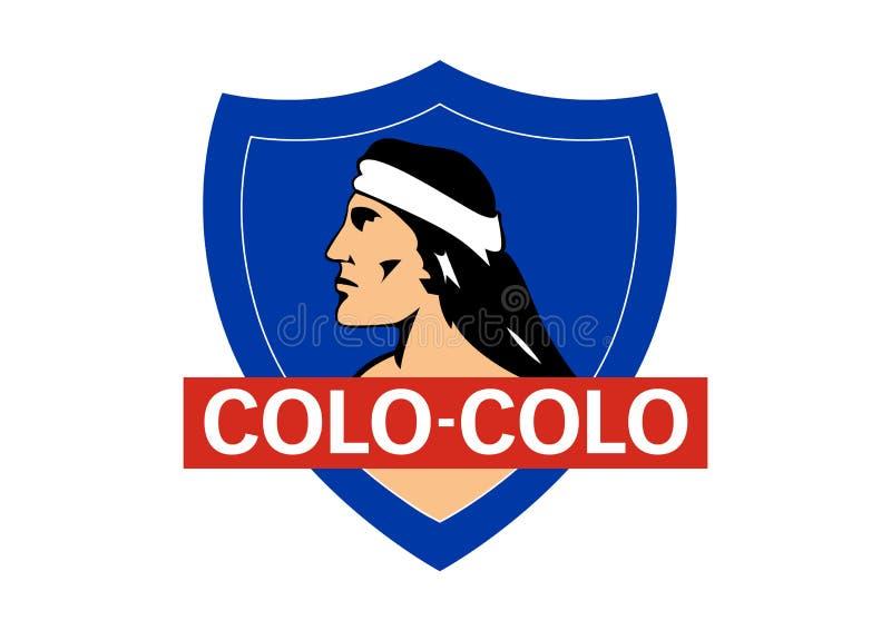 Colo Colo Logo stock illustrationer