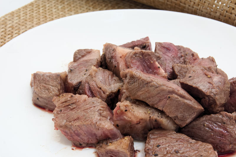 Colo steak of Japan producing beef. Colo steak of Japan producing name-brand beef royalty free stock photos
