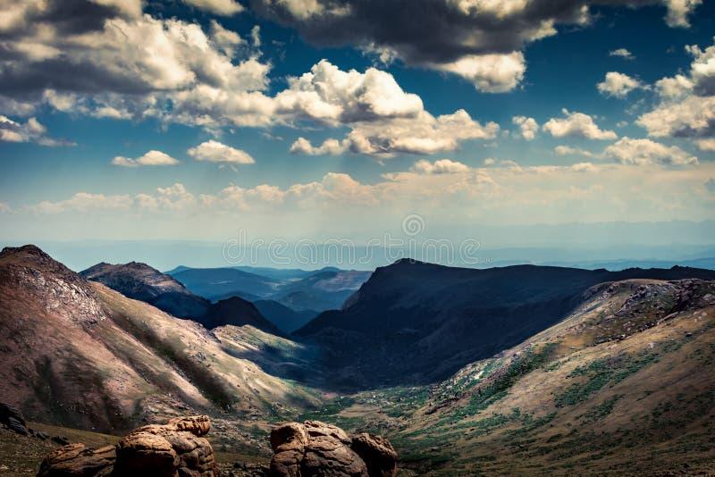 Coloaro Rocky Mountains imagens de stock royalty free