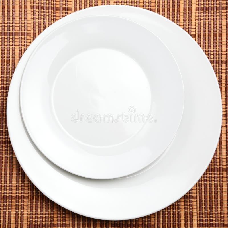 Colocação da tabela do restaurante imagem de stock