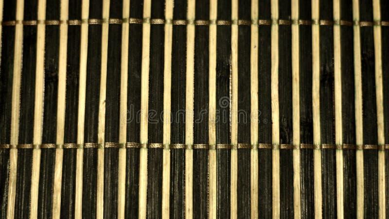 Colocação de bambu em um arranjo vertical fotografia de stock