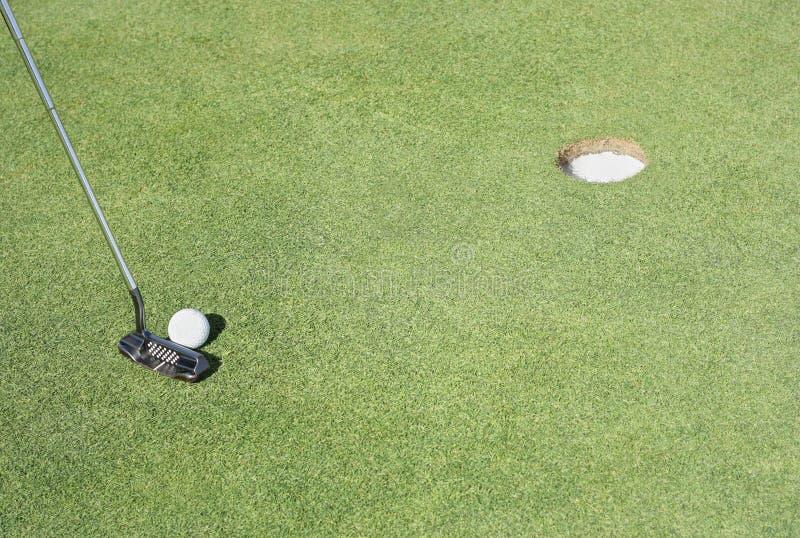 Colocação do golfe imagens de stock royalty free