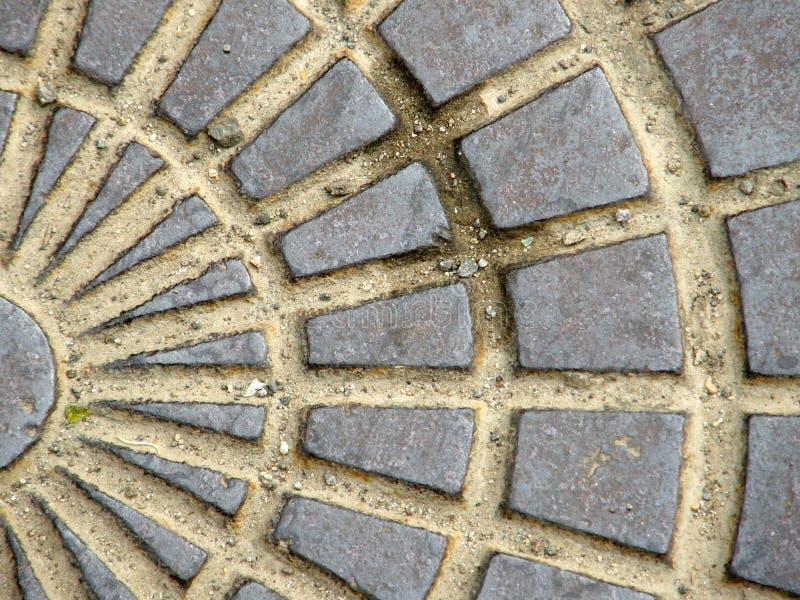 Colocação velha da pedra. foto de stock