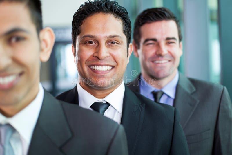 Colocación de los hombres de negocios foto de archivo libre de regalías
