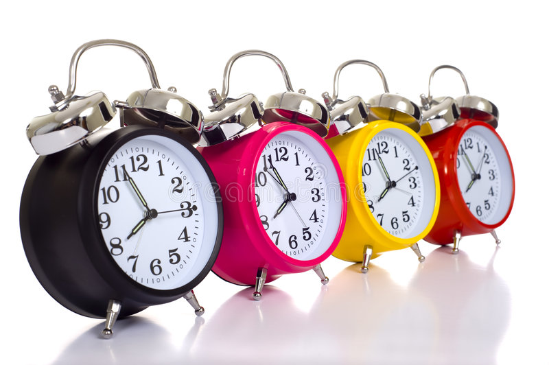 Download Colofful Alarm Clocks stock photo. Image of clock, nobody - 9075836