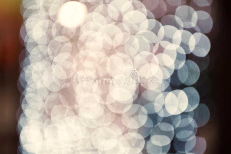 Coloful circle bokeh background. Defocused image. Blurred photo illustration. Copy space for design and text stock photo