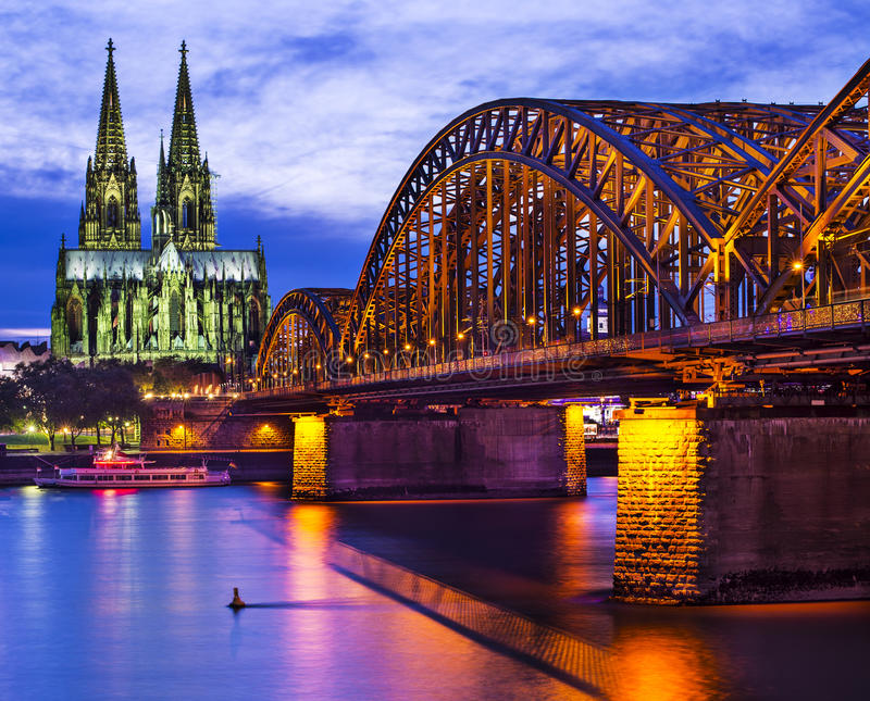 Cologne Allemagne photos stock
