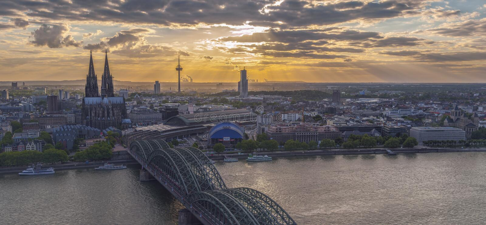 Cologne, Allemagne images stock