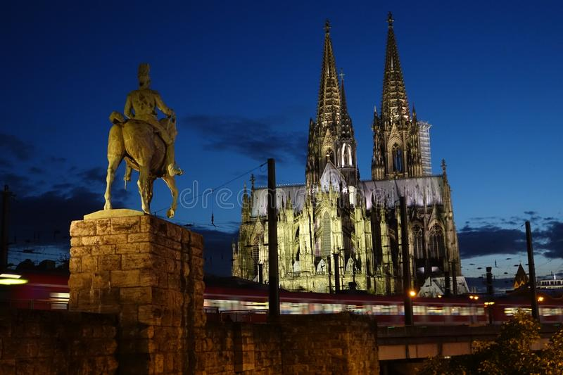 Cologne Allemagne image stock