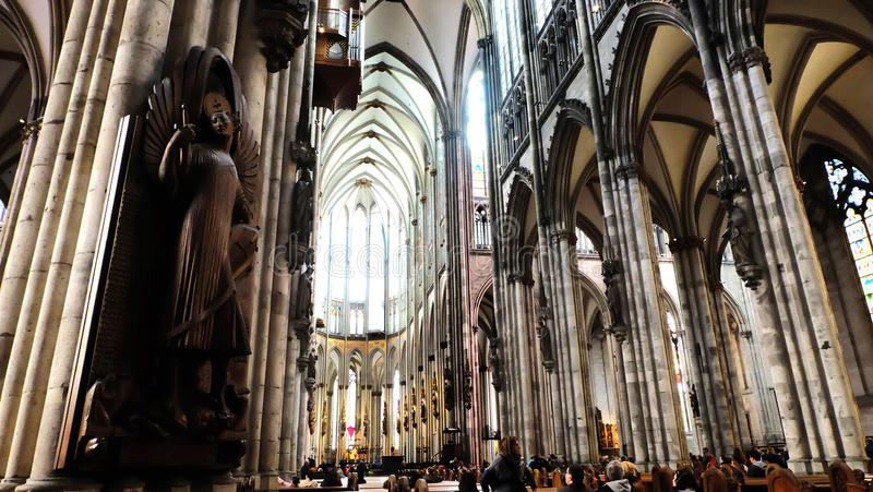 Cologne cathedral stock image