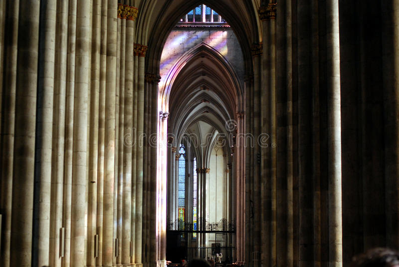 Cologne Cathedral22. Cologne Cathedral (Kolner Dom, official name Hohe Domkirche St. Peter und Maria) is one of the best-known architectural monuments in Germany royalty free stock photos
