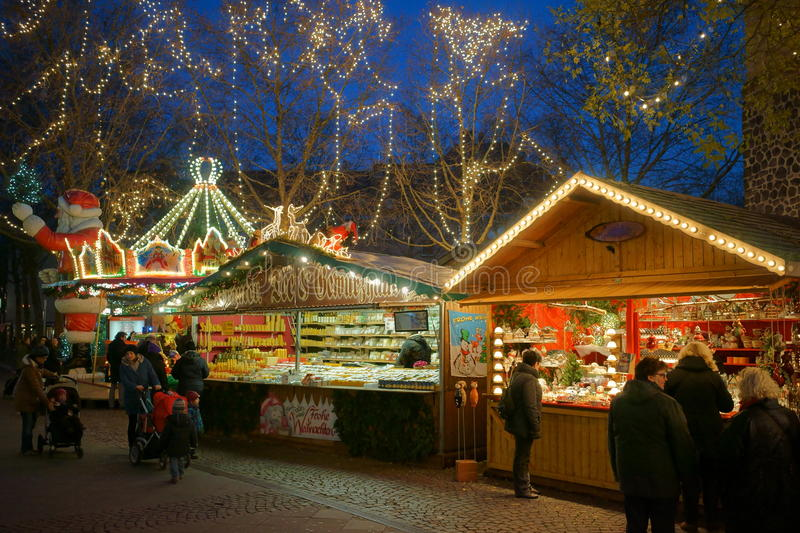 Cologne - Christmas market royalty free stock images