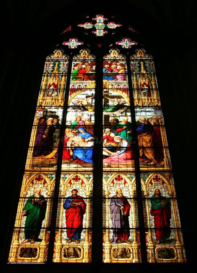 cologne de cathédrale photographie stock libre de droits