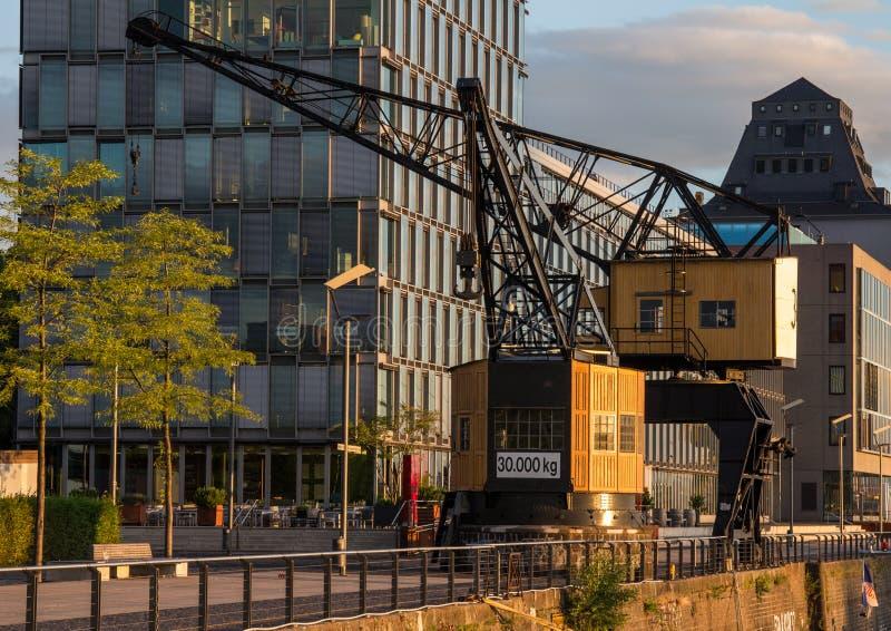 Cologne de la 'promenade' del río foto de archivo libre de regalías