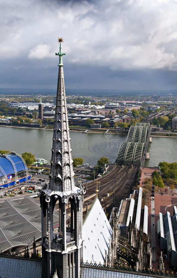 Cologne, germany royalty free stock images
