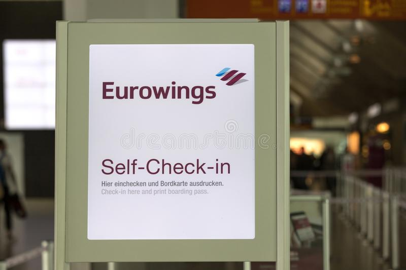 Bordkarte eurowings