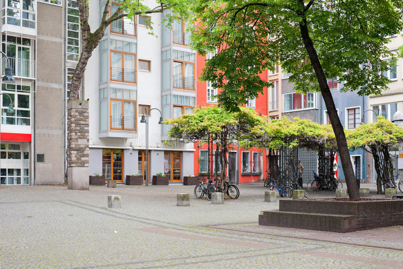 Download Cologne Small Yard Royalty Free Stock Images - Image: 25778629