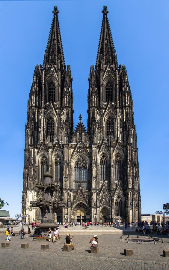 Cologne Tyskland arkivbilder