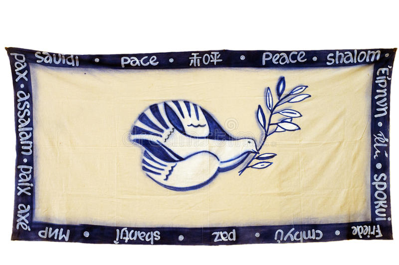 Colomba di pace immagine stock libera da diritti