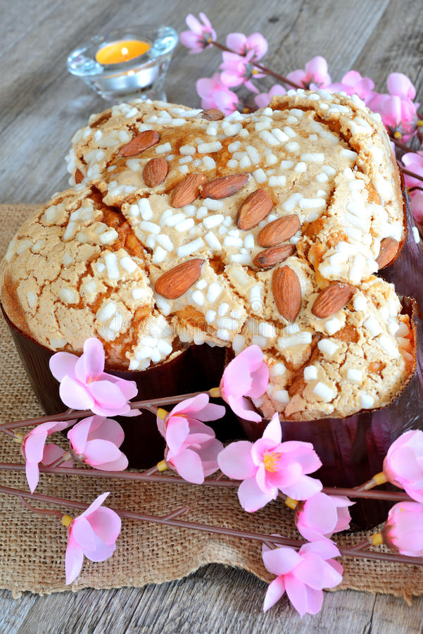 Colomba Easter tort