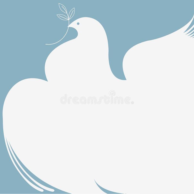 Colombe de paix photo libre de droits