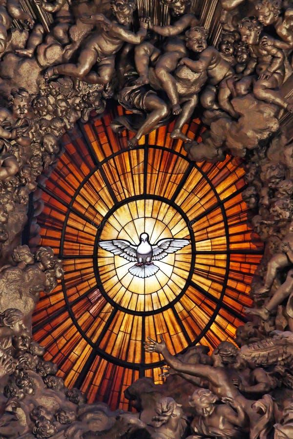 Colombe de Saint-Esprit photos libres de droits