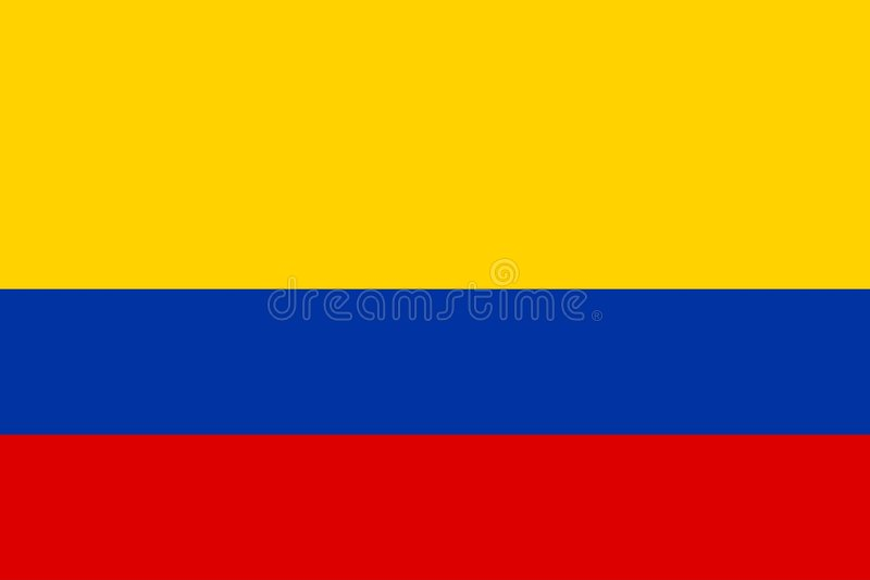 Colombia stock illustration