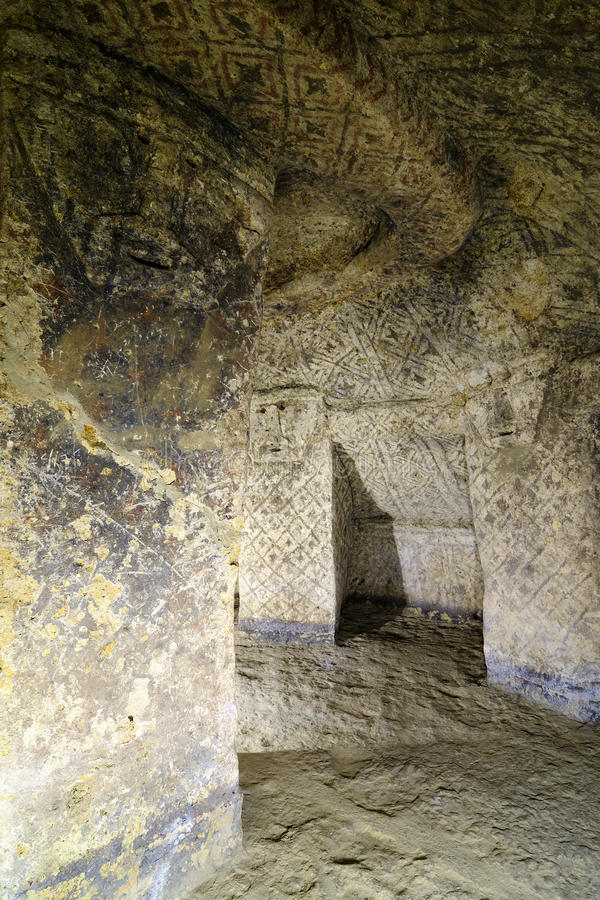 Colombia, Ancient Tomb In Tierradentro Stock Photography