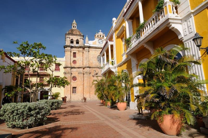 Colombia Cartagena royaltyfri fotografi
